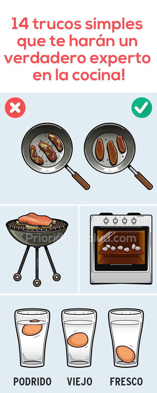 14 trucos simples que te harán un verdadero experto en la cocina